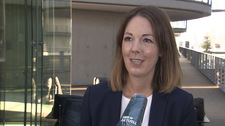 Ellen Demuth aus Linz - Die CDU-Politikerin soll Chefstrategin von Norbert Röttgen werden (Foto: SWR)