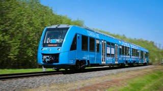 """Wasserstoffzug vom Typ """"Coradia iLint"""" des Herstellers Alstom (Foto: Alstom)"""