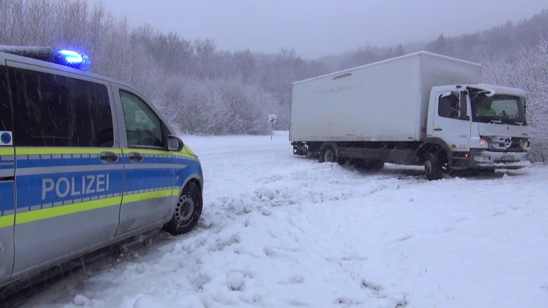 Schnee an Silvester in Rheinland-Pfalz (Foto: SWR)