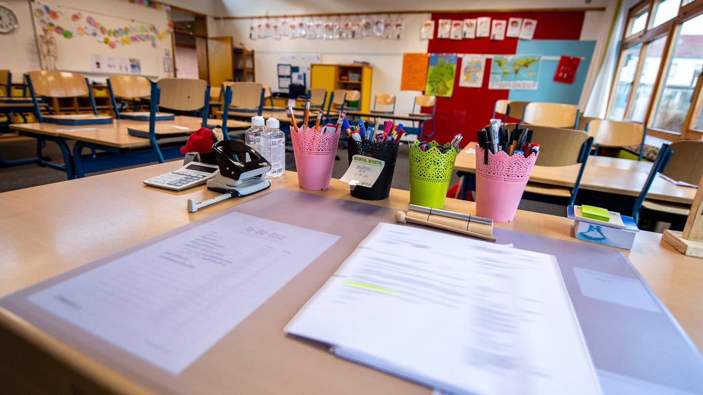 Schulen in Rheinland-Pfalz im Lockdown (Foto: picture-alliance / Reportdienste, picture alliance / Inderlied/Kirchner-Media | Inderlied/Kirchner-Media)