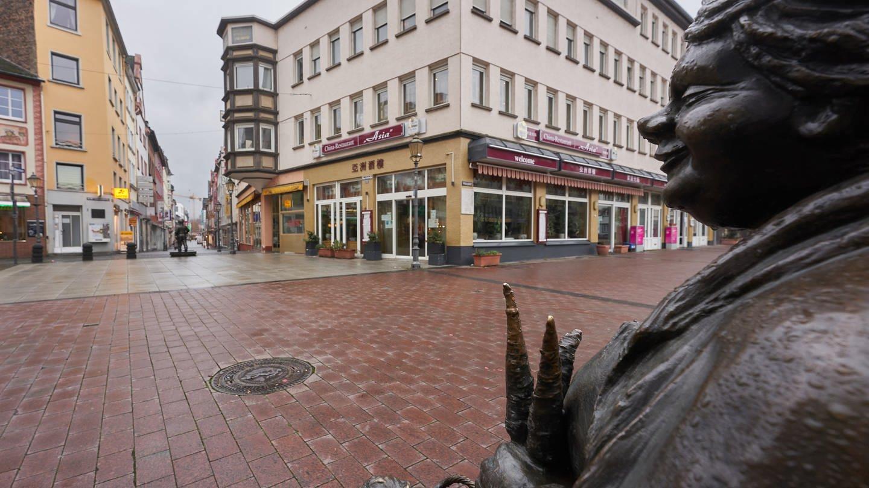 Viele Innenstädte sind derzeit leer wegen der geschlossenen Geschäfte (Foto: dpa Bildfunk, picture-alliance/dpa, Thomas Frey)