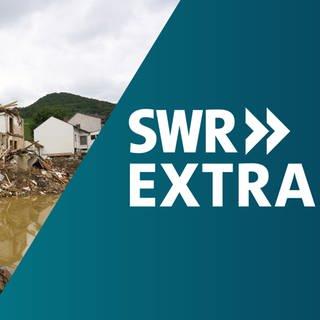 In einem SWR Extra berichten wir über die Beschlüsse von Bund und Ländern zur finanziellen Hilfe für die vom Hochwasser betroffenen Regionen in Rheinland-Pfalz. (Foto: dpa Bildfunk, SWR, picture alliance/dpa | Thomas Frey, Grafik: SWR)