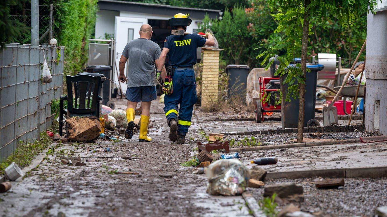 Helfen mit dem THW - nach der Flutkatastrophe in der Eifel und im Ahrtal haben viele Menschen den Wert des Katastrophenschutzes erkannt