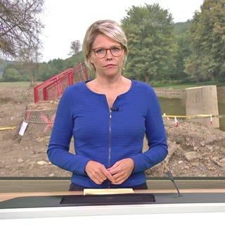 Nachrichtensprecherin Dorit Friederike Becker (Foto: SWR)