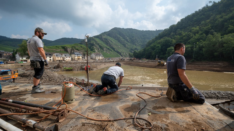 Aufbau im Ahrtal nach Flutkatastrophe