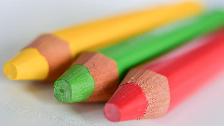 Die Farben der Ampel
