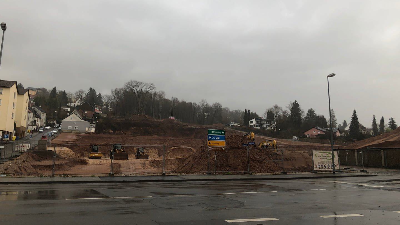 Das Gelände der ehemaligen Parkbrauerei in Zweibrücken ist eine Baustelle (Foto: SWR)
