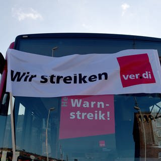 Busfahrer privater Unternehmen im Warnstreik (Foto: picture-alliance / Reportdienste, Picture Alliance)