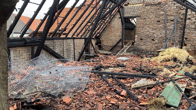 Bauernhof in Unkenbach brennt zum dritten Mal