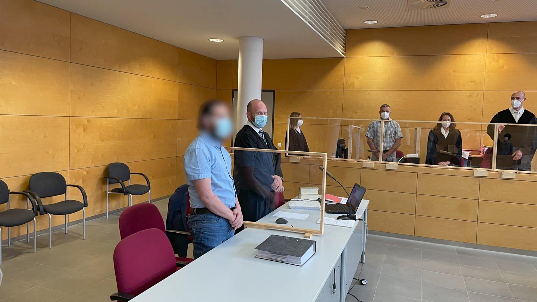 Prozessauftakt am Landgericht Kaiserslautern wegen zweifachen Mordes