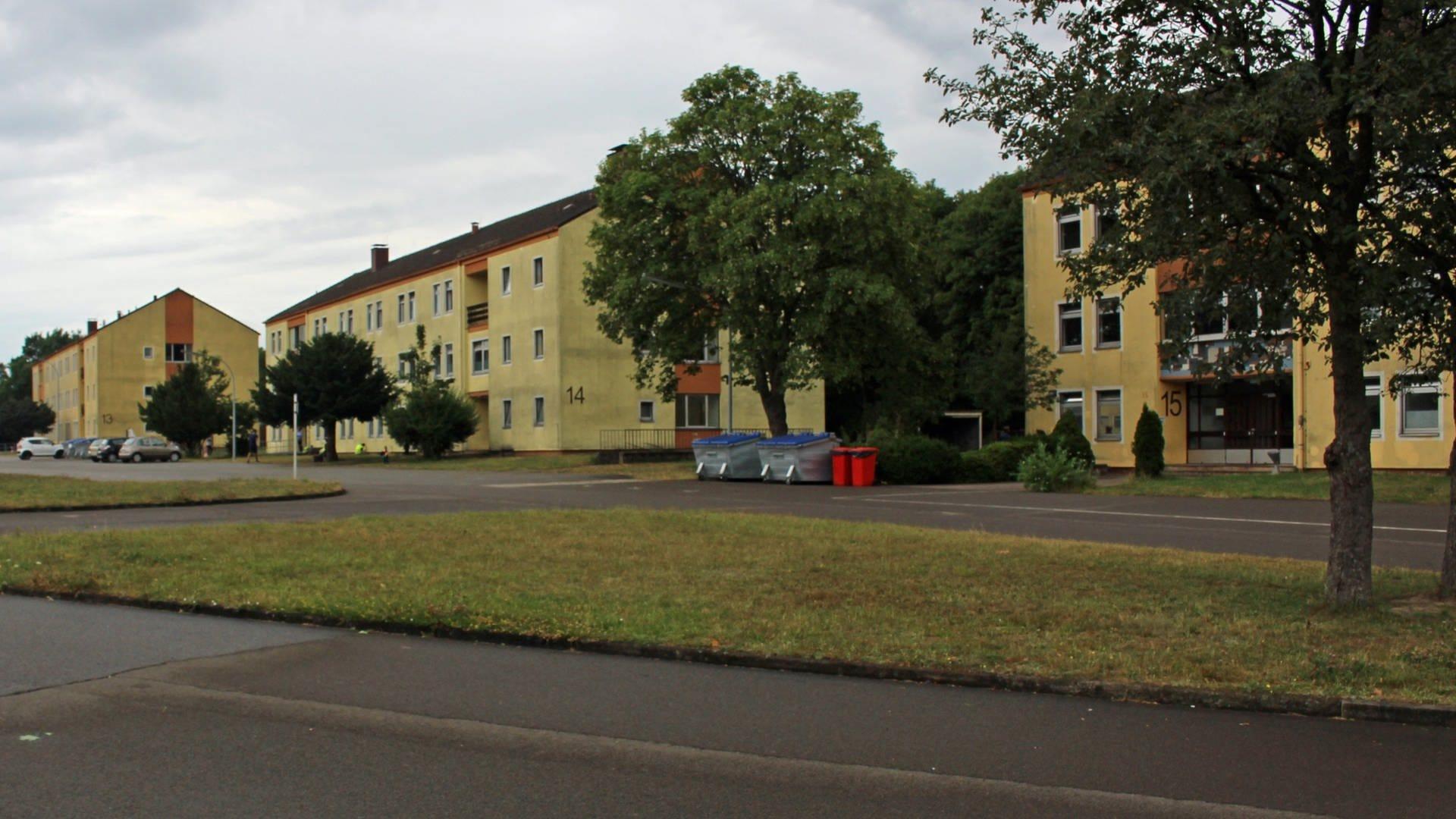 Die ehemalige Kaserne in Kusel dient heute als Flüchtlingsunterkunft.