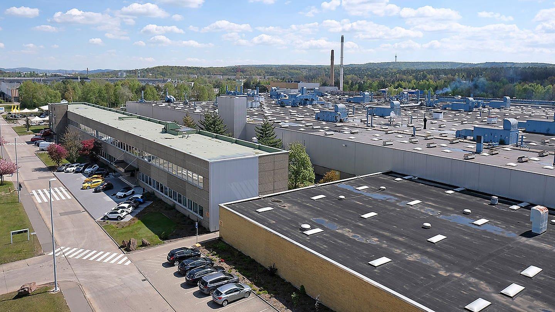 Ein Luftbild vom Opel-Werk in Kaiserslautern. (Foto: Opel Automobile GmbH)