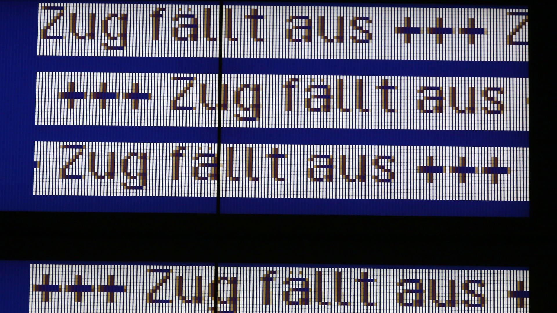 Zahlreiche Zugausfälle in der Westpfalz über Ostern