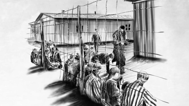 KZ-Außenlager Cochem Bruttig Treis Projekt A7 Deckname Zeisig Zwangsarbeit (Foto: SWR)