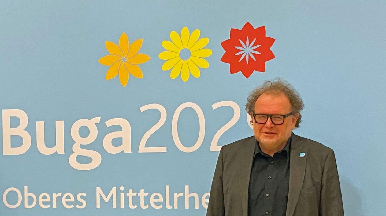 Thomas Metz nach seiner Wahl zum Aufsichtsratsvorsitzenden der neuen BUGA 2029 GmbH.