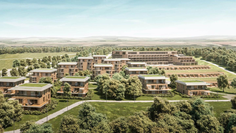 Modell der Hotelanlage auf dem Loreley-Plateau (Foto: PLANET GRUPPE)