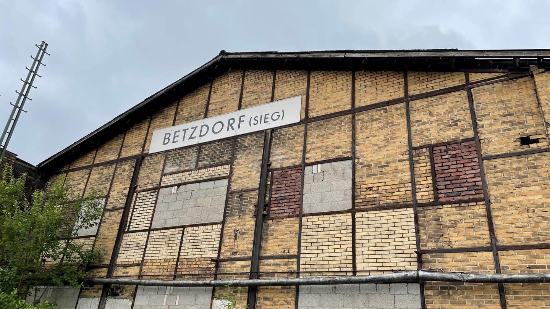 Das ehemalige Eisenbahnausbesserungswerk in Betzdorf.