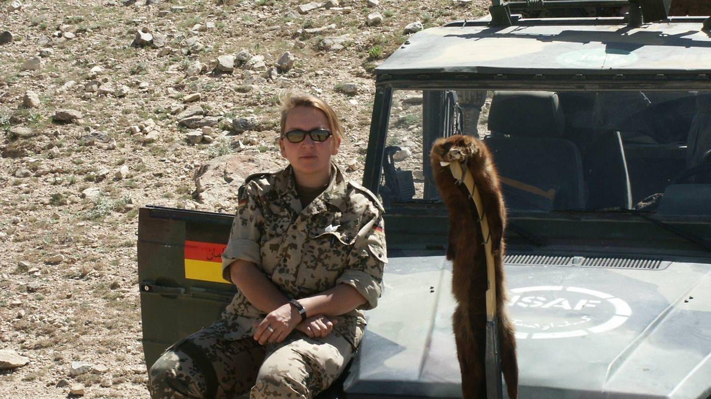 Dunja Neukam aus Neuwied war zwischen 2002 und 2010 vier Mal für die Bundeswehr als Sanitäterin in Afghanistan im Einsatz.