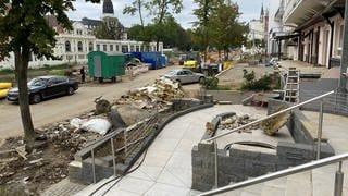 In Bad Neuenahr-Ahrweiler wurde das Krankenhaus durch das Hochwasser schwer beschädigt (Foto: SWR)