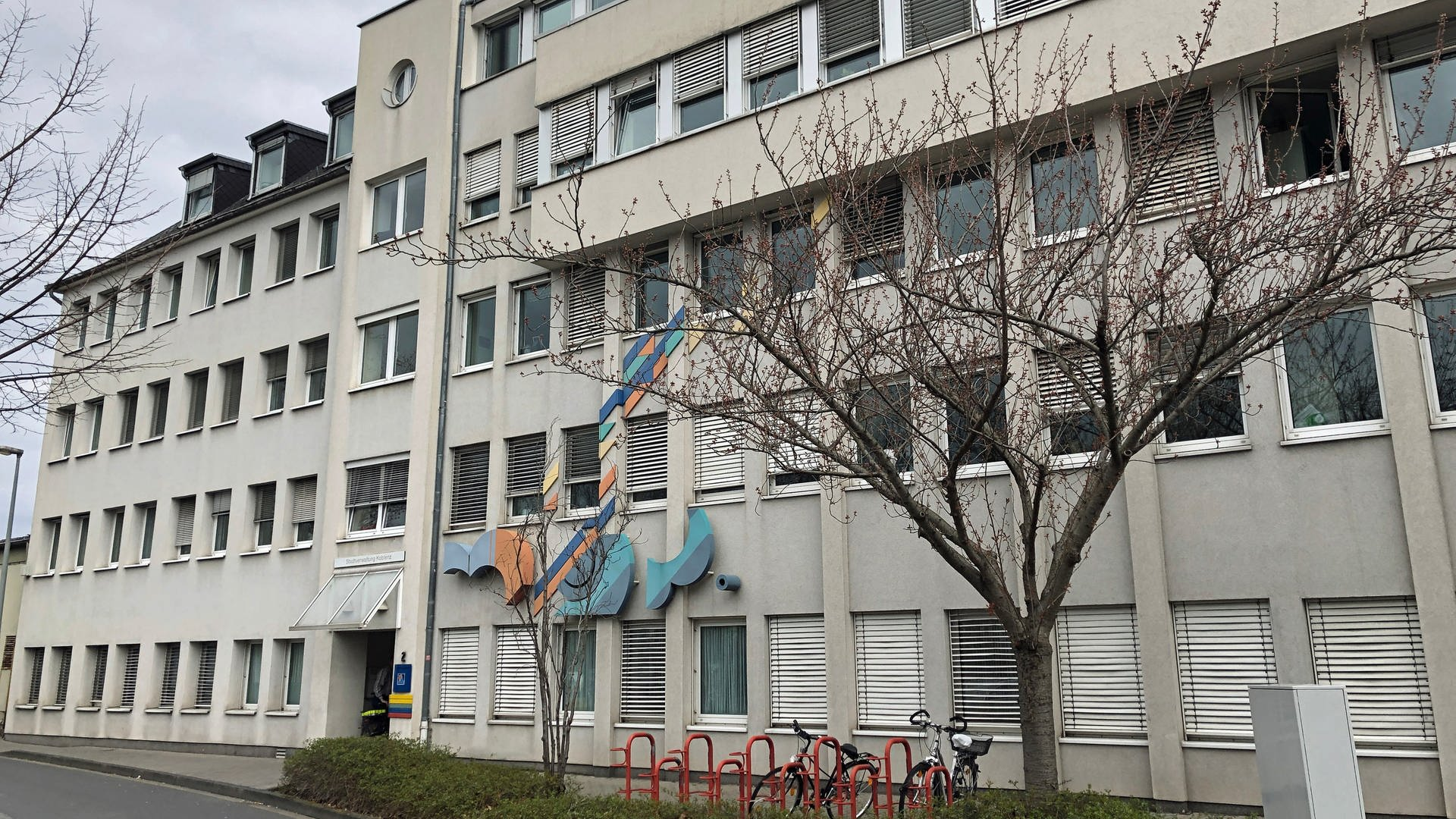 Fassade des Koblenzer Ausländeramtes