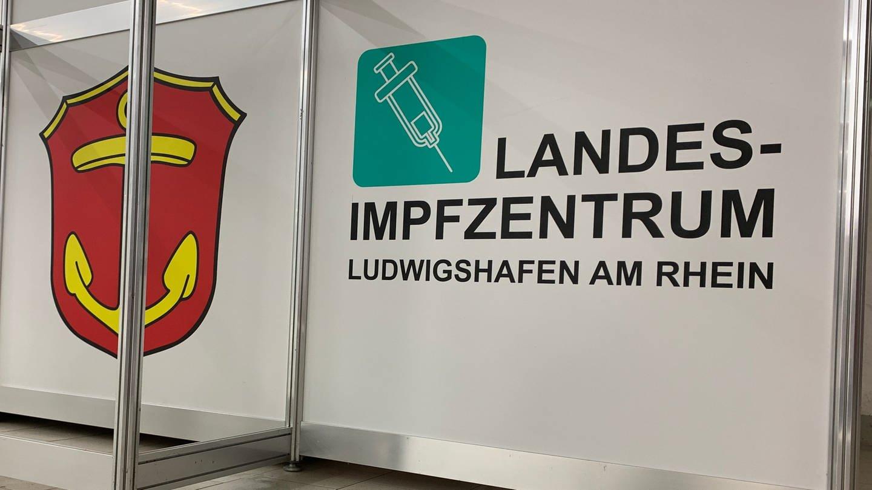 Das Impfzentrum in Ludwigshafen von Innen (Foto: SWR)