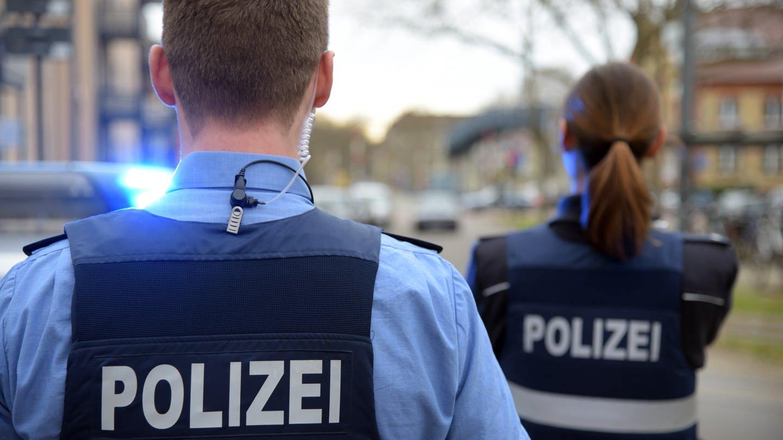 Polizeieinsatz in Ludwigshafen
