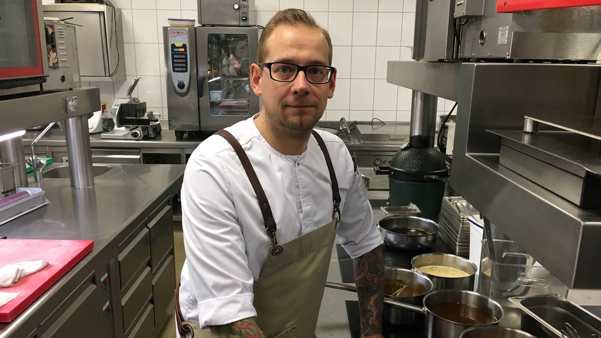 Spitzenkoch Daniel Schimkowitsch