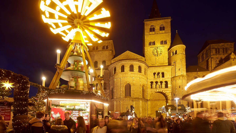 Der Weihnachtsmarkt in Trier (Archivbild)
