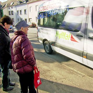 Bus-Shuttle in Trier-Pfalzel (Foto: SWR)