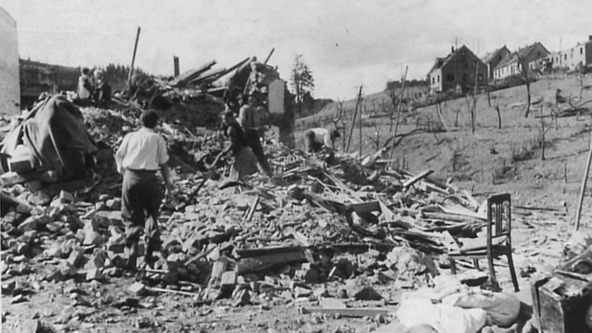 70 Jahre nach der Explosion