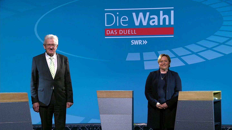 Wienfried Kretschmann und Susanne Eisenmann (Foto: SWR)