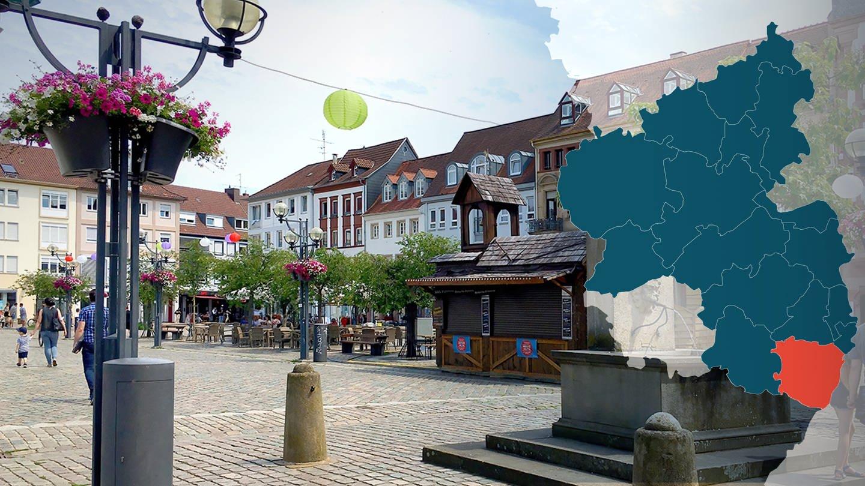 Landau Rathausplatz
