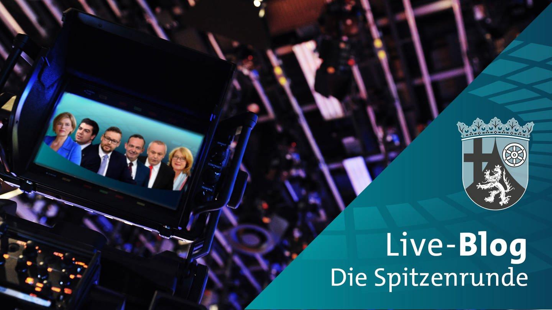 Live-Blog: Der Schlagabtausch der rheinland-pfälzischen Spitzenkandidaten