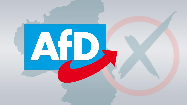 Logo der AfD, die in Rheinland-Pfalz zur Landtagswahl 2021 antritt