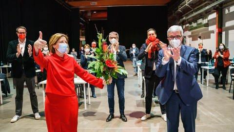 Nach der Landtagswahl 2021 in Rheinland-Pfalz (Foto: picture-alliance / Reportdienste, picture alliance/dpa | Andreas Arnold)