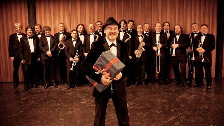 Paul Carrack und die SWR Big Band (Foto: SWR, SWR - Lena Semmelroggen)