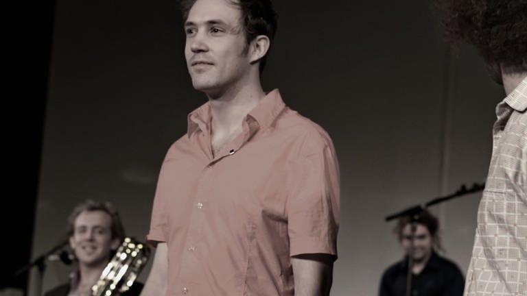 Der Komponist Johannes Kreidler bei den Donaueschinger Musiktagen 2012 (Foto: SWR, SWR - Tilman Stamer)