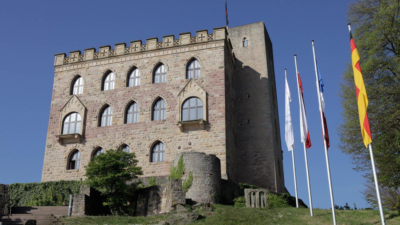 Das Hambacher Schloss, die Wiege der deutschen Demokratie