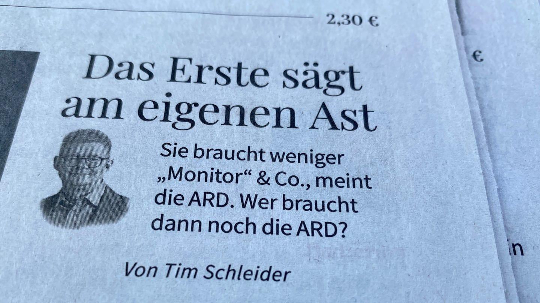 Beitrag in der Stuttgarter Zeitung vom 20.07.2021