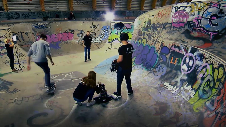 Musikvideo Mediengestalter-Azubis (Foto: SWR)