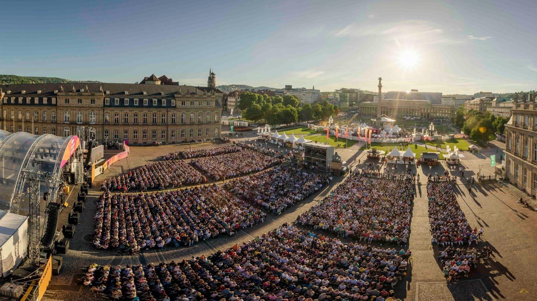 SWR Sommerfestival in Stuttgart © SWR/Markus Palmer (Foto: SWR, Markus Palmer)