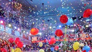 """Luftballons bei """"""""Mainz bleibt Mainz"""" © SWRVolker Oehl (Foto: SWR)"""