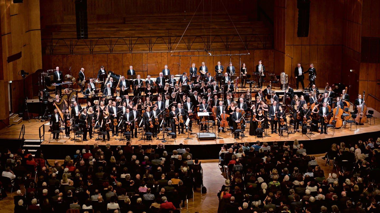 Das SWR Symphonieorchester in der Liederhalle Stuttgart. © SWR/Alexander Kluge (Foto: SWR, Alexander Kluge)