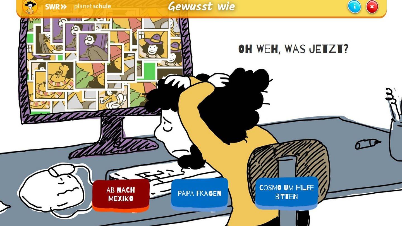 Mit Planet Schule (SWR und WDR) können Kinder aller Altersstufen problemlos zu Hause lernen © SWR
