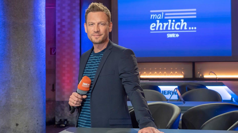 Gastgeber und Moderator Florian Weber © SWR/Alexander Kluge (Foto: SWR, Alexander Kluge)
