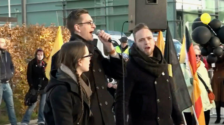 Eine Demonstration der Identitären Bewegung in Österreich (Foto: SWR, ffframework-tv)