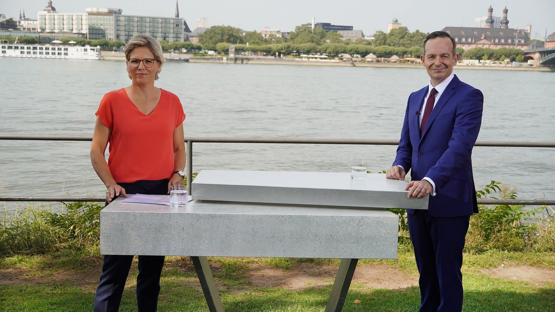 """Heute im """"SWR Aktuell Sommerinterview"""" mit Dorit Becker: Volker Wissing (FDP)"""