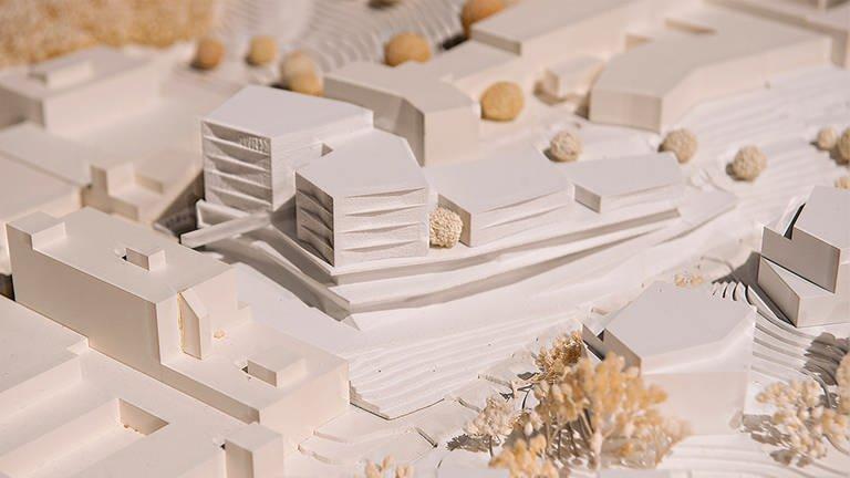 Den ersten Platz des Wettbewerbsverfahrens belegt das Architekturbüro Wurm + Wurm Architekten Ingenieure GmbH aus Bühl. (Foto: SWR, Alexander Kluge)