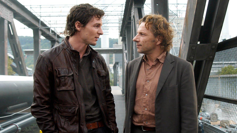 Richy Müller und Felix Klare als Kommissare in ihrem ersten Stuttgarter Tatort
