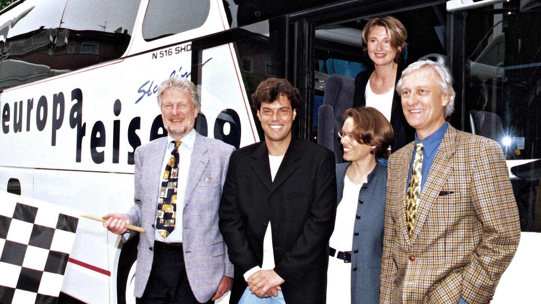 Die Europareise im Jahr 1999.